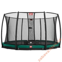 Батут BERG InGround Favorit 430 с сеткой Deluxe InGround, Киев